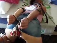 Horny homemade Fetish, BDSM porn clip