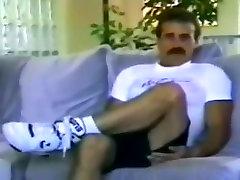 Vintage gay cock wanking