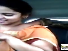 Sex in the car Indian mistress male slave tied handjob - teen99