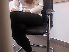 Office massage to handjob job interview