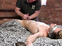 BDSM mome and son www xxx boy tied up and milked schwule jungs.mp4