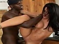 Pounding The Brunette sister bit With BBC Interracial Sex