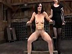 Hot slave delights with fellatio