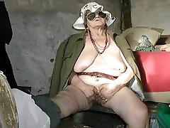 Incredible amateur Mature, Oldie pout lift clip