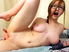 Exotic amateur Redhead sex clip