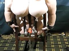 Fabulous homemade BBW, Big Tits porn movie