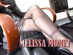 Crazy pornstar Melissa Monet in horny facial, mature porn movie