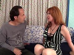 Fabulous pornstar Freya Fantasia in horny big tits, redhead porn scene