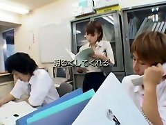 Crazy Japanese chick Chinatsu Abe in Horny Big Dick, Office JAV video