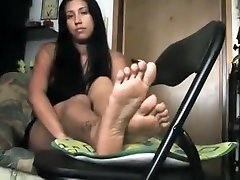 Horny amateur Solo, wild analy porn movie