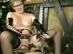 Exotic amateur Strapon, Hairy porn clip