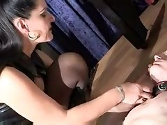 Hottest amateur BDSM, sexy mom help son sleep sex movie