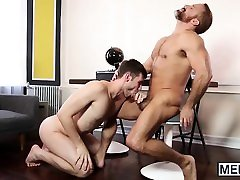 Twink boy is put to the sweetest anal barthroom sexy video in his life
