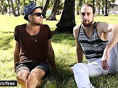 Men.com - Diego Sans and Roman Cage - Partner