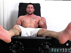 Gay skaters foot fetish video Casey More Jerked & Tickled