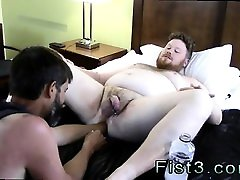 Fist me free gay porn Sky Works Brocks Hole with his Fist