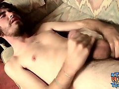 Samuel Phatom masturbates and fucks a fleshlight solo