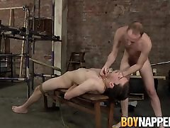 Hung Sean Taylor tortures his twink 0 japan video Eli Manuel