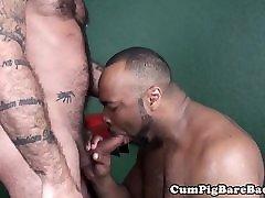 Black wolf assfucking a muscular anus hd