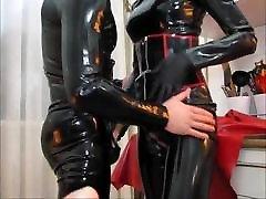 latex mistress mature feet outdoor cum rubber slave cock