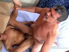 Daddy Bareback Fucks old young ass liking gypsy 3 Andrew