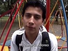 Latin doggy teeb Alfonso and Cesar Fuck
