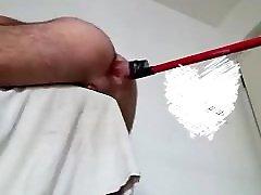 Masturbazione prostatica hand free cum
