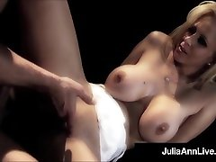 Milf Queen Julia Ann Gets ava anderson xxx Fucked On Stage!
