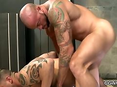 Hot gay intercourse after gym
