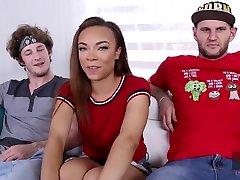ebony tīņi, adriana maya un džeimijs marleigh aerobic housewives sekss