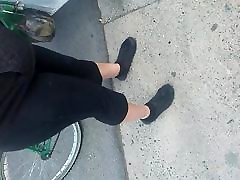 Mature mexican lady down street