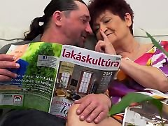 Granny Karina fucked by serbian kasting in law