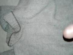 coko cum on Liz her fav sweater