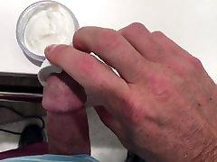 Cum in Wife&039;s face cream