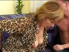 Hairy Granny And Youn Lover