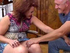 Naughty mature Isadora fucked by daddy