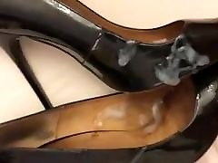 Wife&039;s heels being blasted by a friend