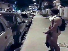 rua pública masturbando exibicionismo