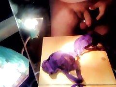 chez hot on purple bra