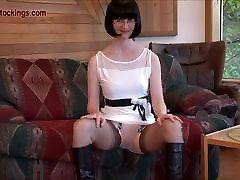 FFstockings - ramas tetek omputeh lady&039;s upskirt sheer panty show