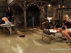 Submissive Teen Slave Girls Presenting Themselves
