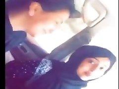 Kissing lesbians hijab
