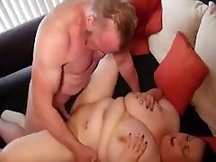 Mature BBW with huge tits pounded