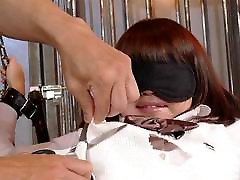 Tied up julia ann manuel ferera schoolgirl has her squirting bush viciously to