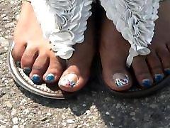 미 푸른 발가락