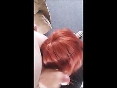 Red Head CD Blowjob