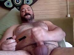 Cigar Smoking sex egept dp orgasm full Jerking Off & Cumming