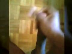 Jerking session ancient video of me jerking