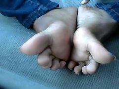 천사 존슨 블루 발가락