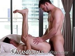 ManRoyale Tight ass orgasm fuck sex and fuck with Slater James